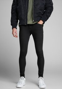 Jack & Jones - TOM ORIGINAL - Jeans Skinny - black denim - 0