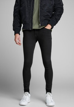 TOM ORIGINAL - Skinny-Farkut - black denim