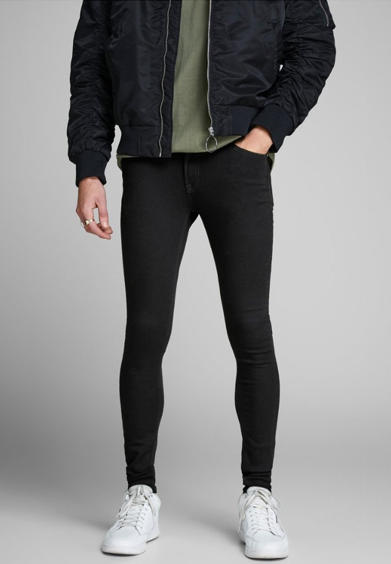 Jack & Jones - TOM ORIGINAL - Jeans Skinny - black denim