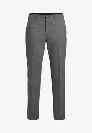 Pantaloni eleganti - light grey melange