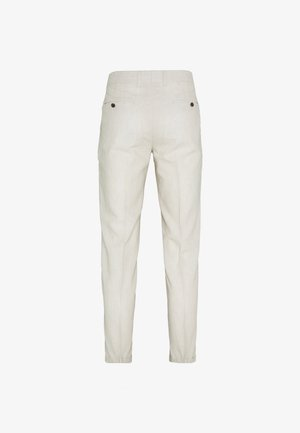 LINEN MIXED FIBER SUIT PANTS - Puvunhousut - string