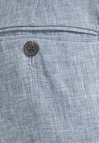 Jack & Jones - LINEN MIXED FIBER SUIT PANTS - Spodnie garniturowe - light blue - 5