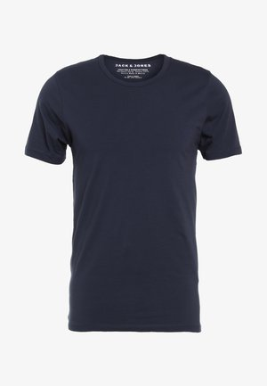 NOOS - Jednoduché triko - navy blue