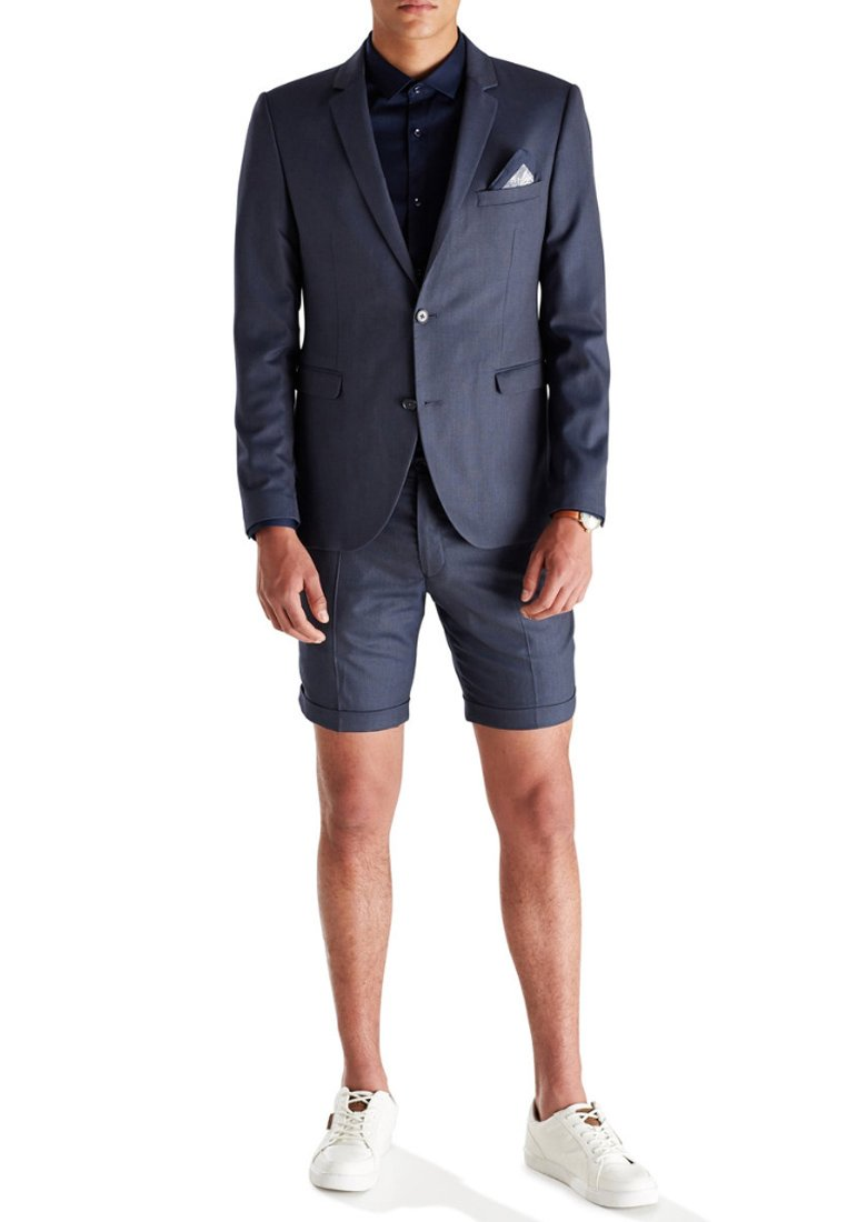 Jack & Jones Koszula biznesowa - navy blazer