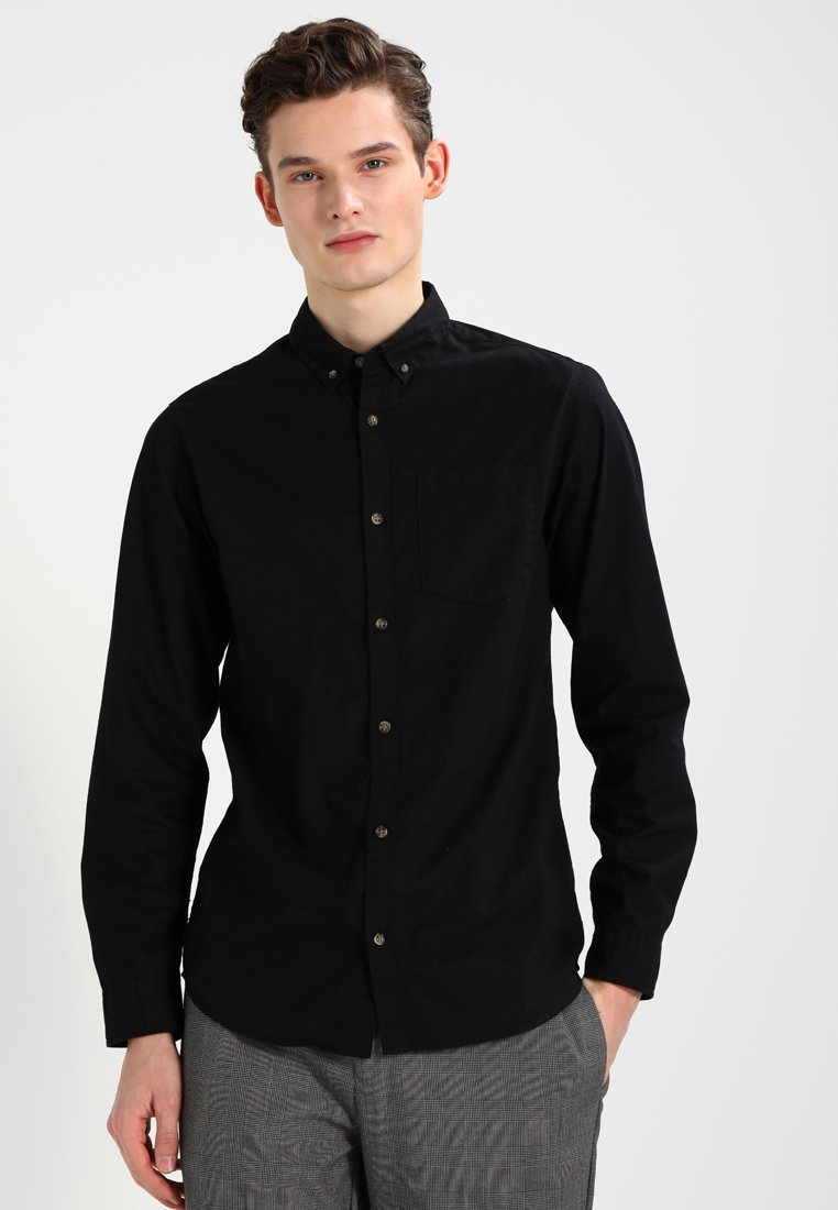 Jack & Jones - JORGAVIN SLIM FIT - Shirt - black