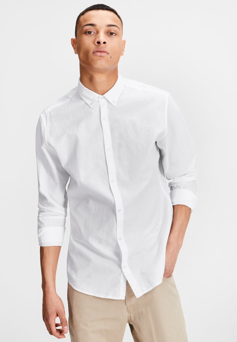 Jack & Jones - LANGARM - Shirt - white