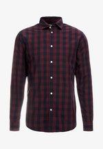 JJEGINGHAM - Shirt - port royale/mixed navy