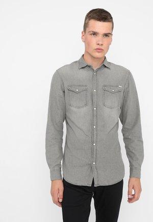 JJESHERIDAN SLIM - Chemise - light grey
