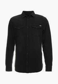 Jack & Jones - JJESHERIDAN SLIM - Shirt - black denim/slim