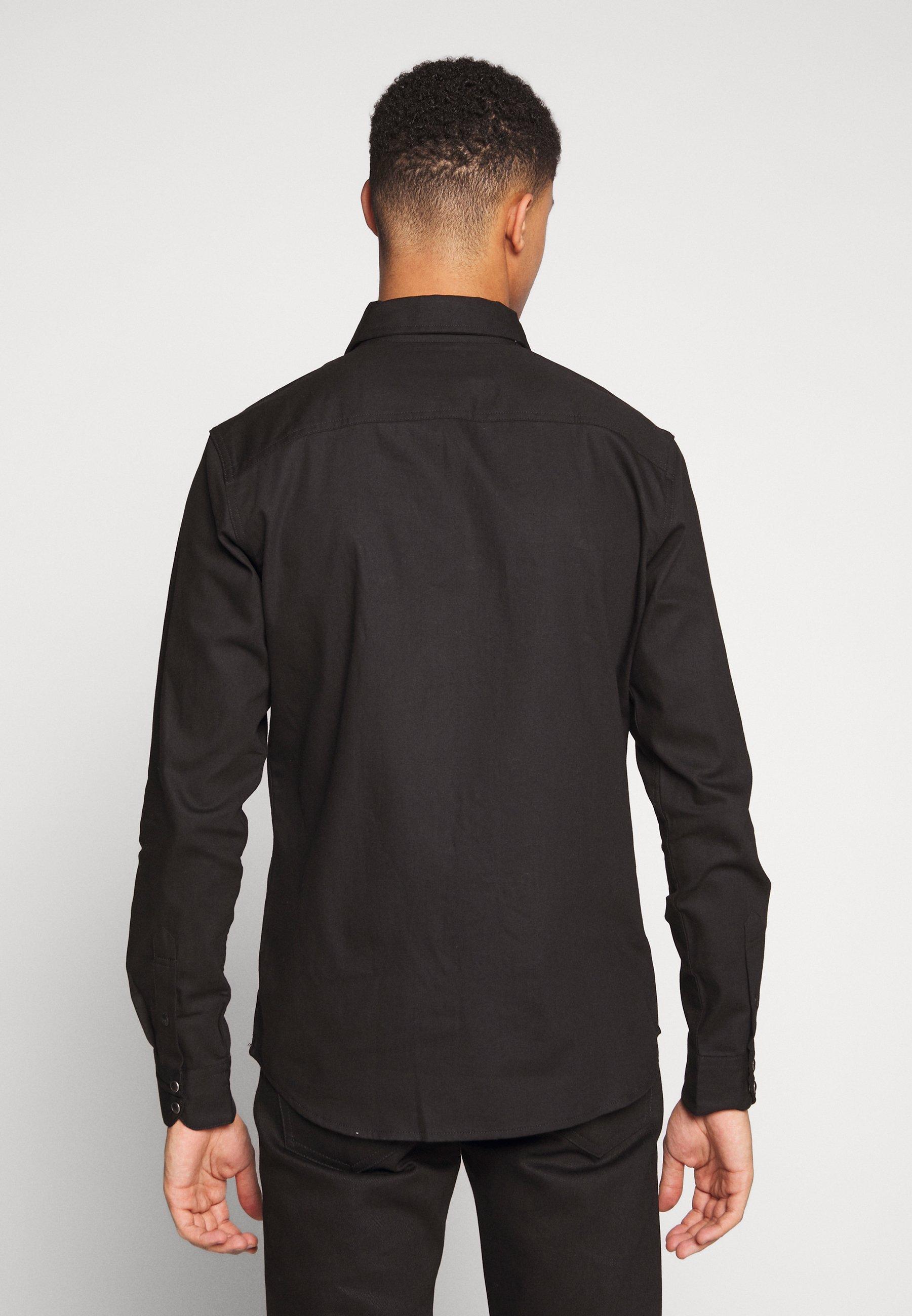 Jack & Jones JJESHERIDAN SLIM - Camicia - black