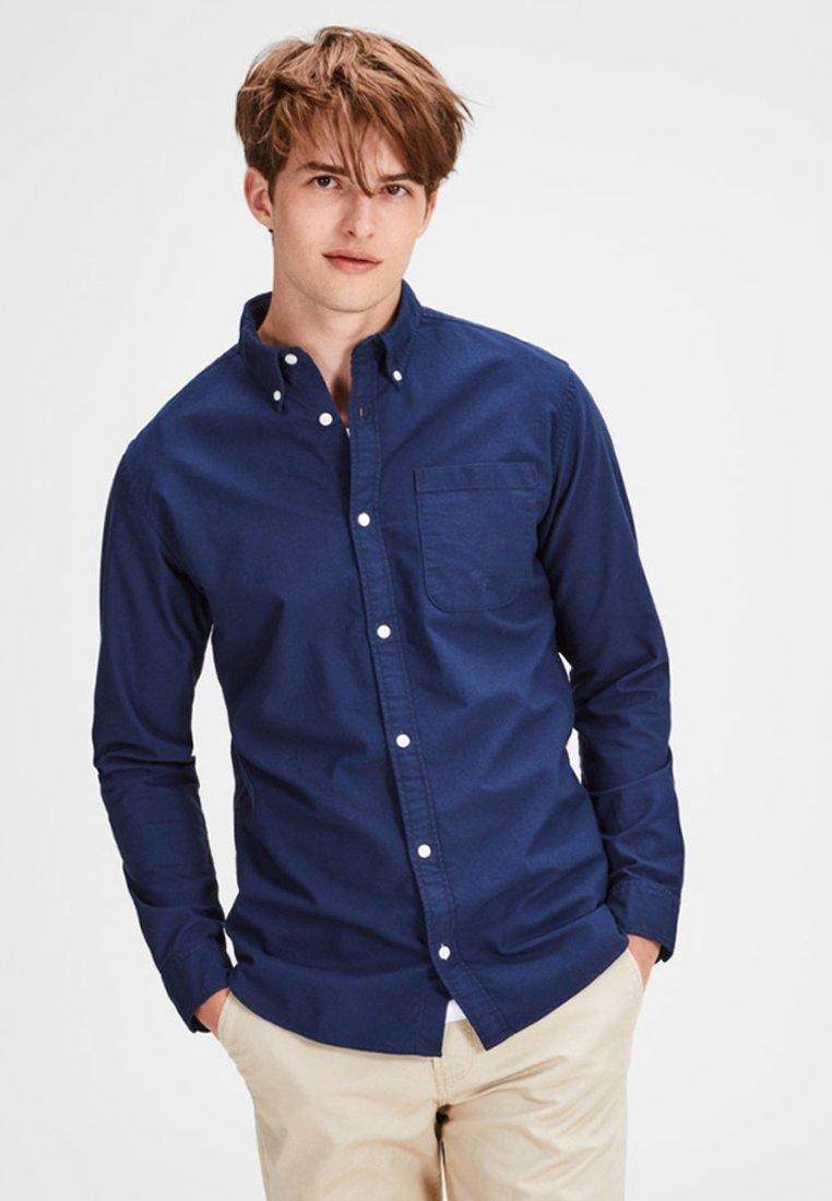 Jack & Jones - JEOXFORD   - Camisa - dark-blue denim