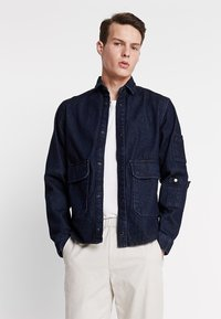 Jack & Jones - JCOCHAMP WORKER - Spijkerjas - dark blue denim - 0