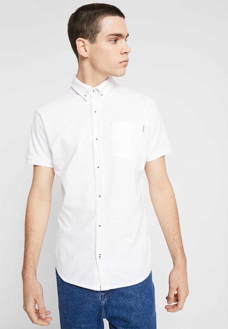 Jack & Jones - JCOMATTHEW SHIRT  PLAIN - Shirt - white