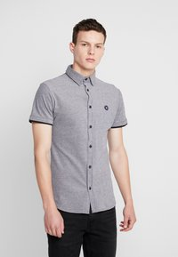Jack & Jones - JCOADAM PLAIN SLIM FIT - Košile - black - 0