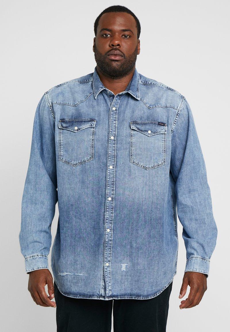 Jack & Jones - JJIJAMES JJSHIRT - Camisa - blue denim