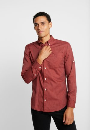 JORLUNDDAHL SLIM FIT - Overhemd - brick red