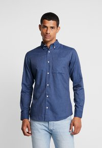 Jack & Jones - JORLUNDDAHL SLIM FIT - Košile - navy blazer - 0