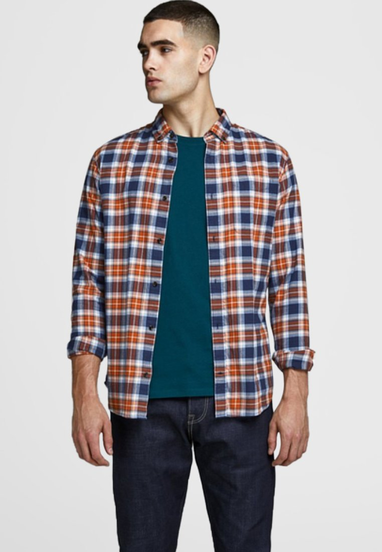 Jack & Jones - JJEWASHINGTON - Hemd - umber