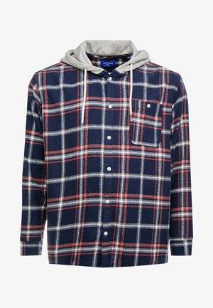 JORJASPER HOOD - Overhemd - navy blazer
