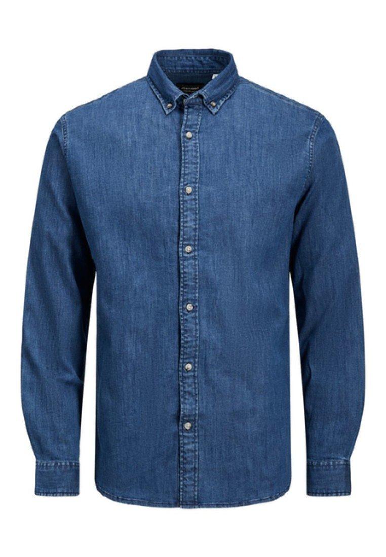 Jack & Jones LEON - Koszula - medium blue denim