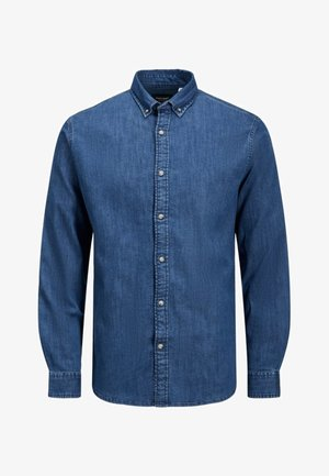LEON - Shirt - medium blue denim