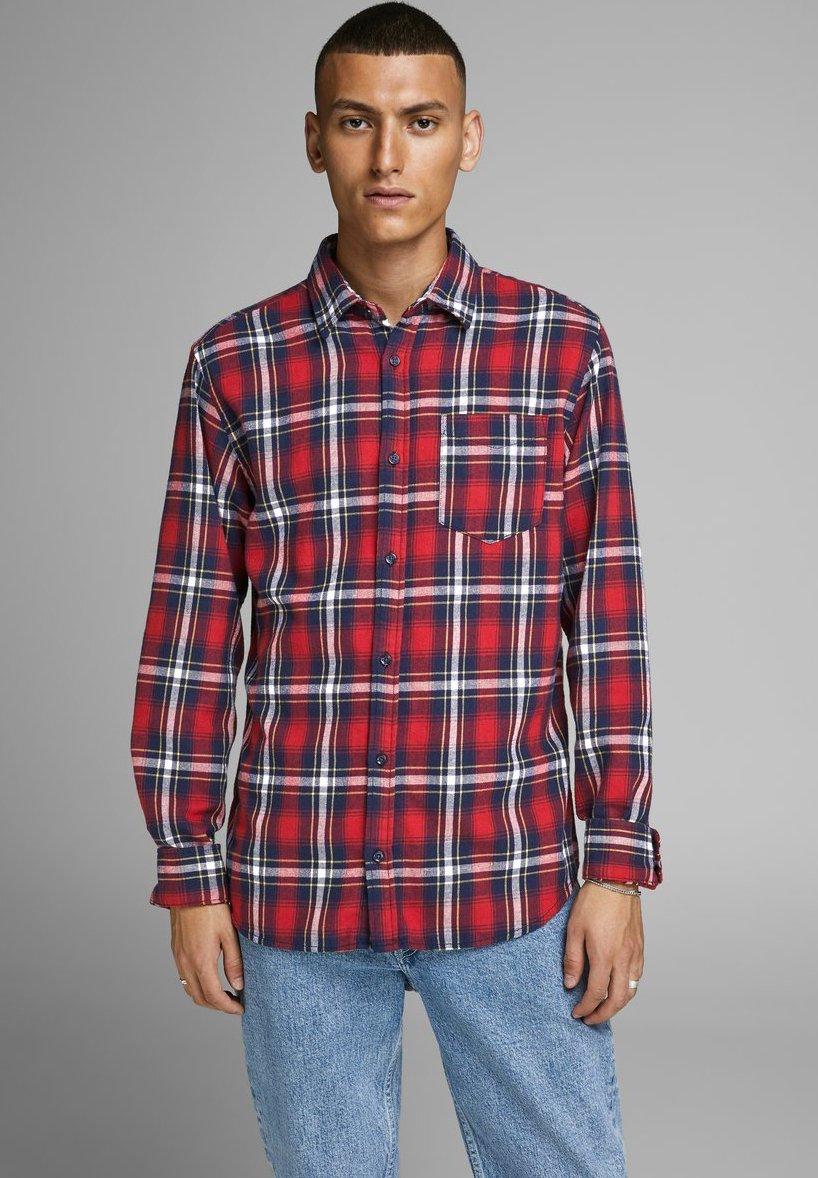 Jack & Jones JORBROOK - Koszula - brick red