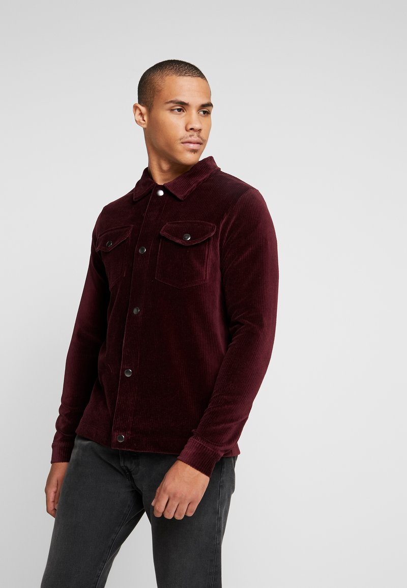 Jack & Jones - JORTOD REGULAR FIT - Vapaa-ajan kauluspaita - port royale