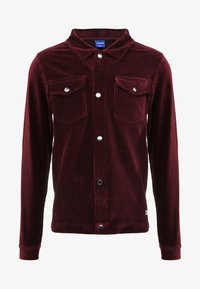 Jack & Jones - JORTOD REGULAR FIT - Vapaa-ajan kauluspaita - port royale - 5