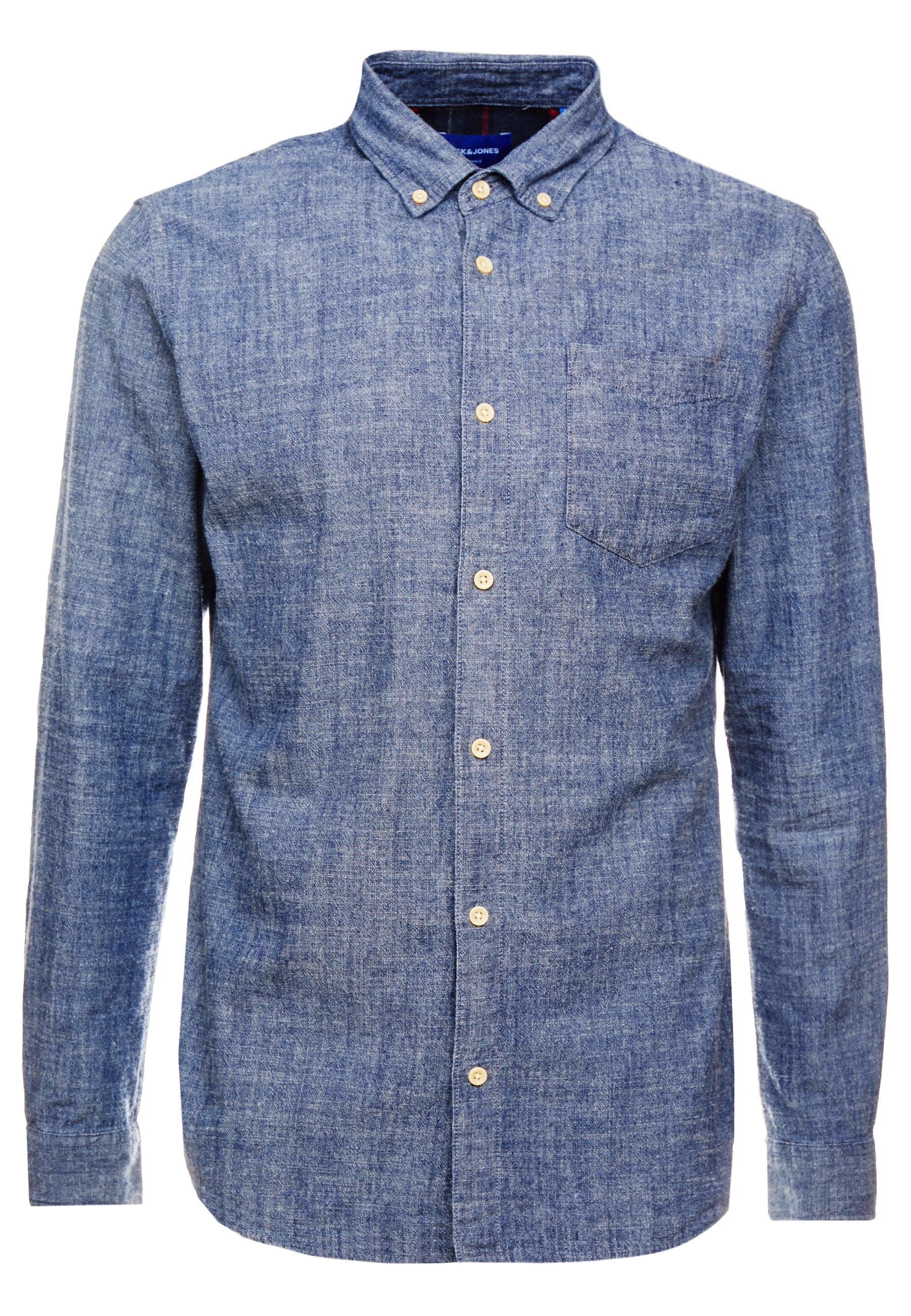 Jack & Jones Jorrick Slim Fit - Skjorta Navy Blazer