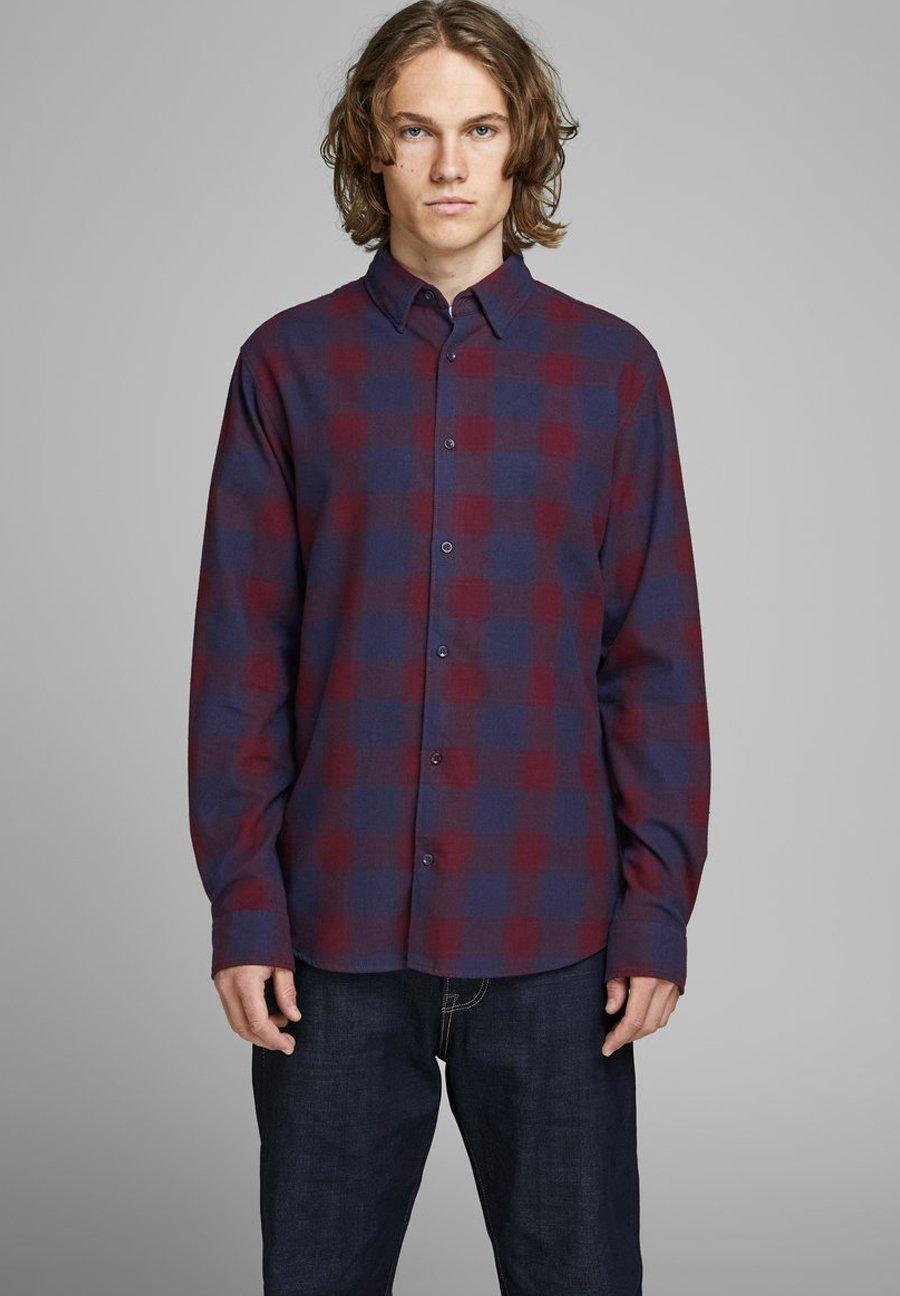 Jack & Jones Koszula - dark red