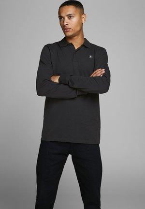 LANGÄRMELIGES - Koszulka polo - black