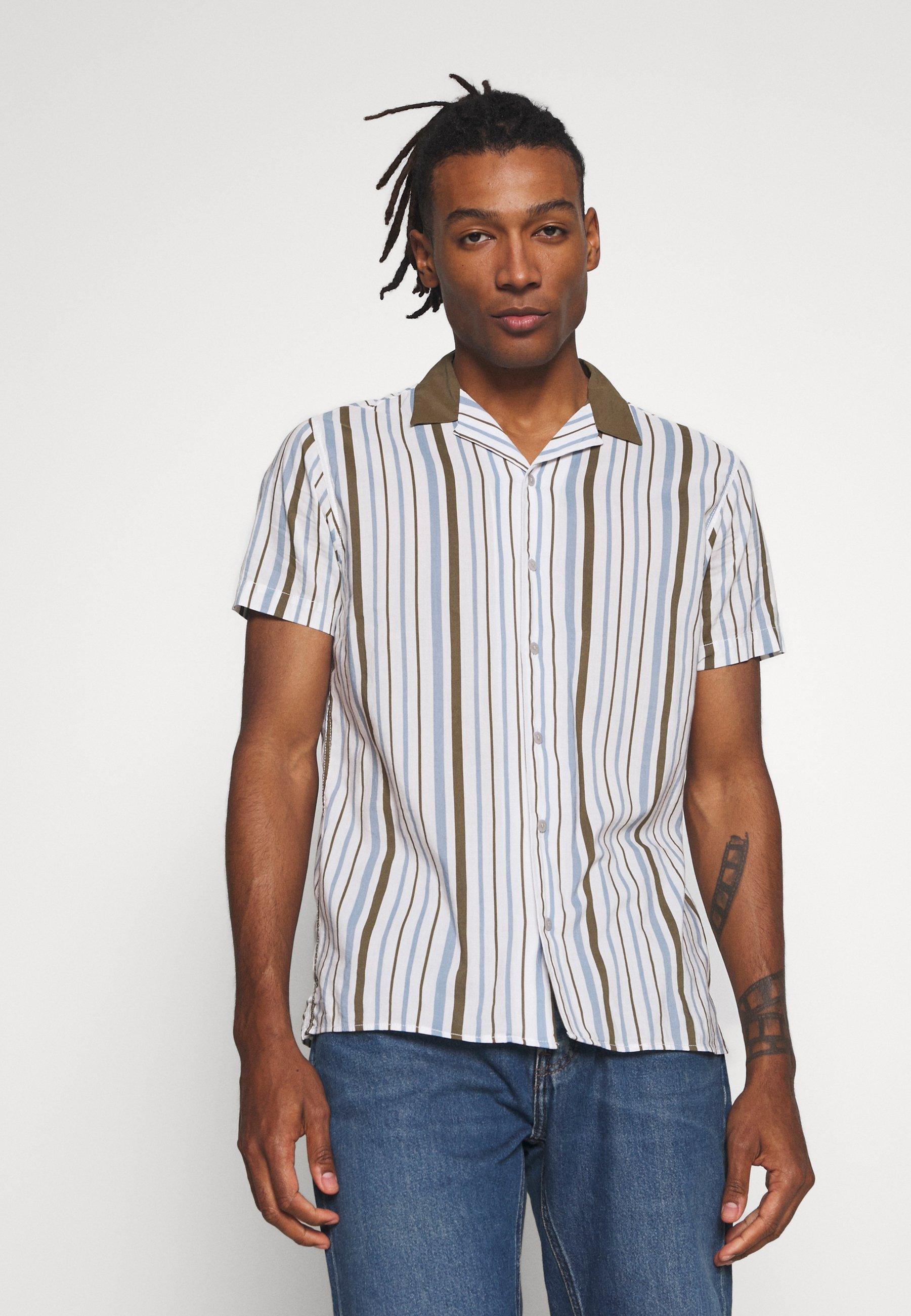 Jack & Jones JORMITCHELL - Koszula - cloud dancer