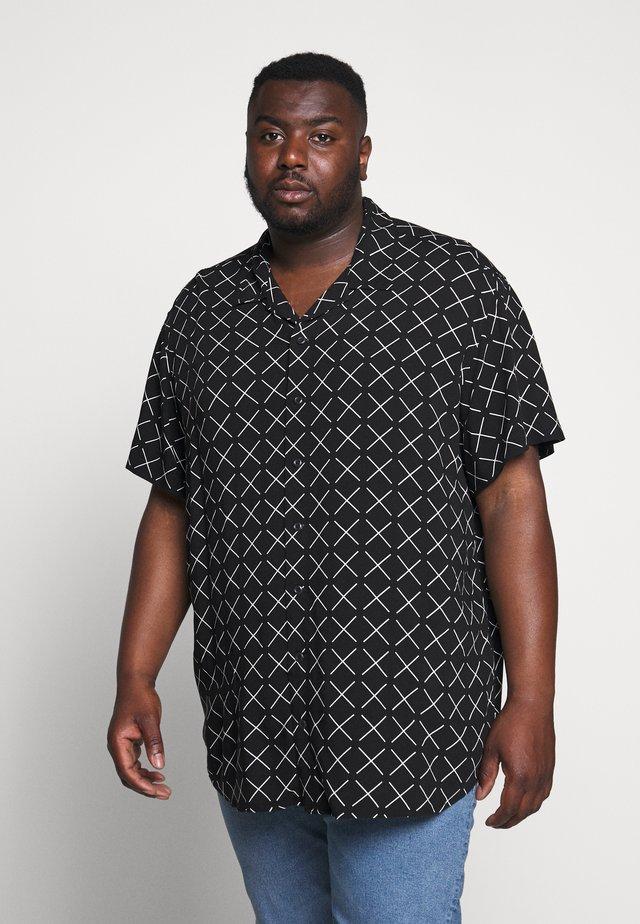 JCOGRAHAM PLAIN - Shirt - black