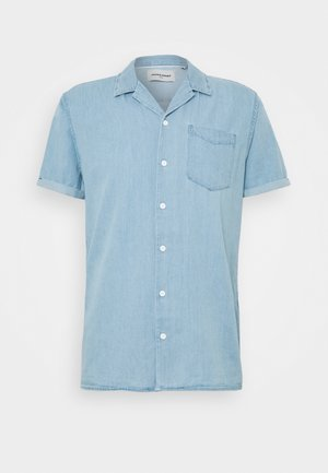 JCOKEN SHIRT ONE POCKET - Camisa - light blue denim