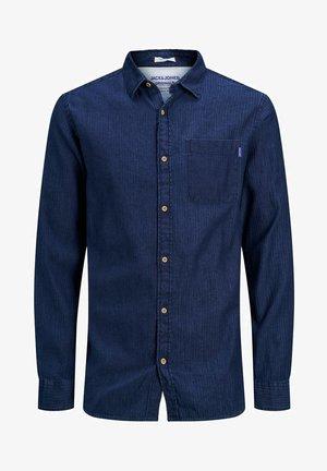 Skjorta - dark blue denim