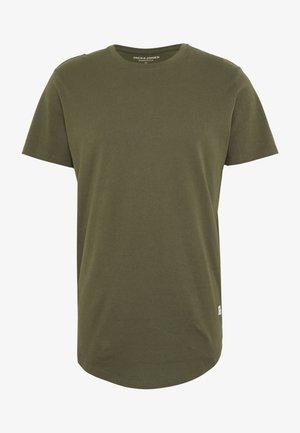 JJENOATEE CREW NECK  - Basic T-shirt - forest night