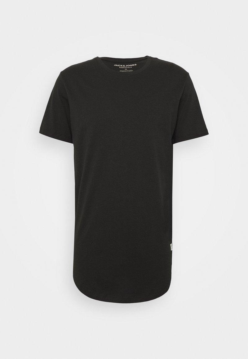 Jack & Jones - JJENOATEE CREW NECK  - T-shirt basique - black