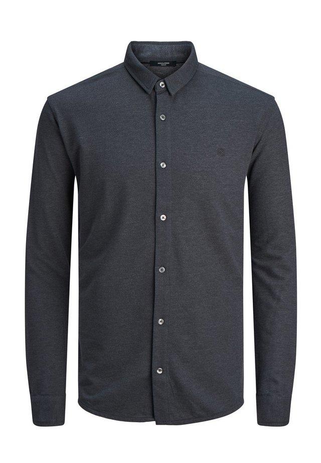 Hemd - dark grey melange