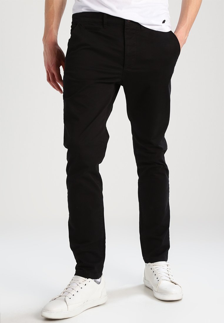 Jack & Jones - JJIMARCO JJENZO - Trousers - black