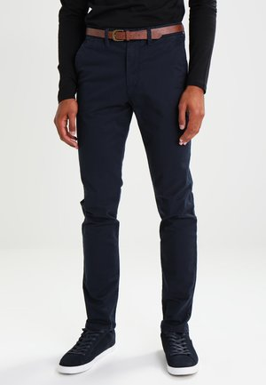 JJICODY JJSPENCER - Chinosy - navy blazer