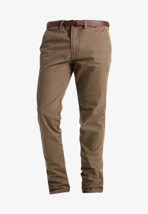 JJICODY JJSPENCER - Spodnie materiałowe - tan