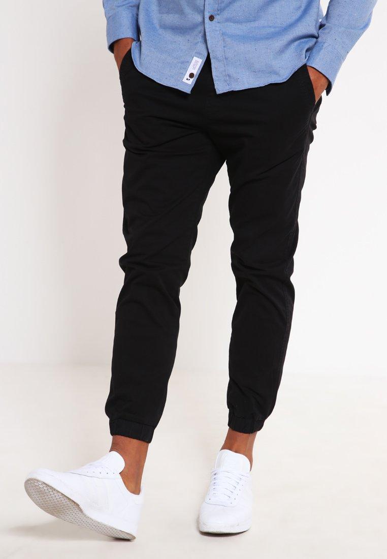 Jack & Jones - JJIVEGA JJLANE  - Spodnie materiałowe - black