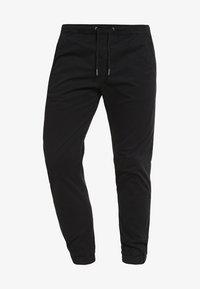 Jack & Jones - JJIVEGA JJLANE  - Spodnie materiałowe - black - 5
