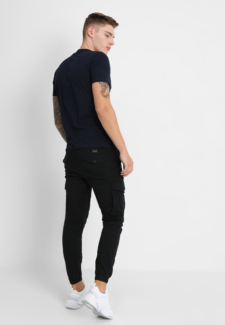 Jack & Jones JJIPAUL JJFLAKE - Pantalones cargo - black