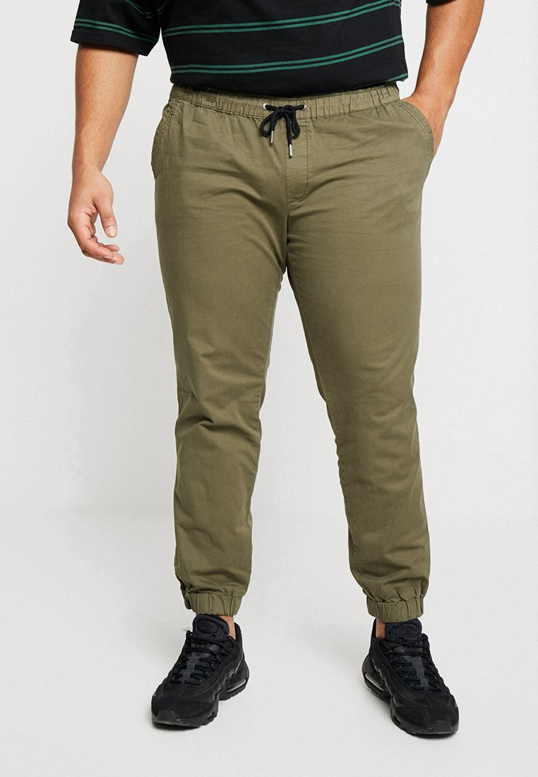 Jack & Jones - JJIVEGA JJLANE - Tracksuit bottoms - olive night