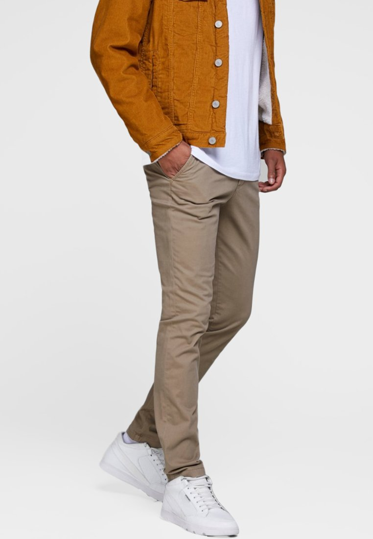 Jack & Jones - Chinosy - beige