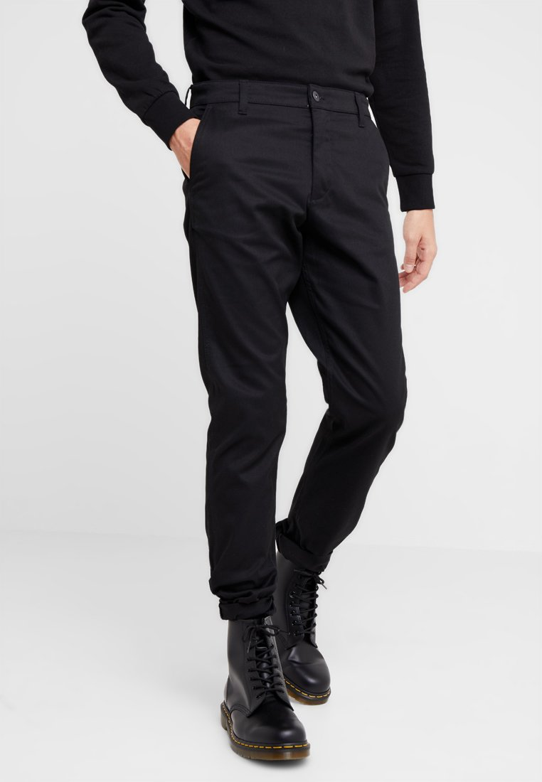 Jack & Jones - JJICHRIS JJOLLIE - Chino - black