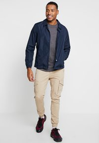 Jack & Jones - JJIPAUL JJFLAKE - Pantaloni cargo - white pepper - 1