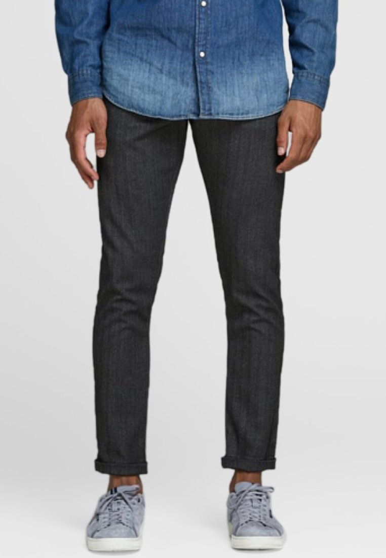 Jack & Jones PREMIUM - Stoffhose - dark grey