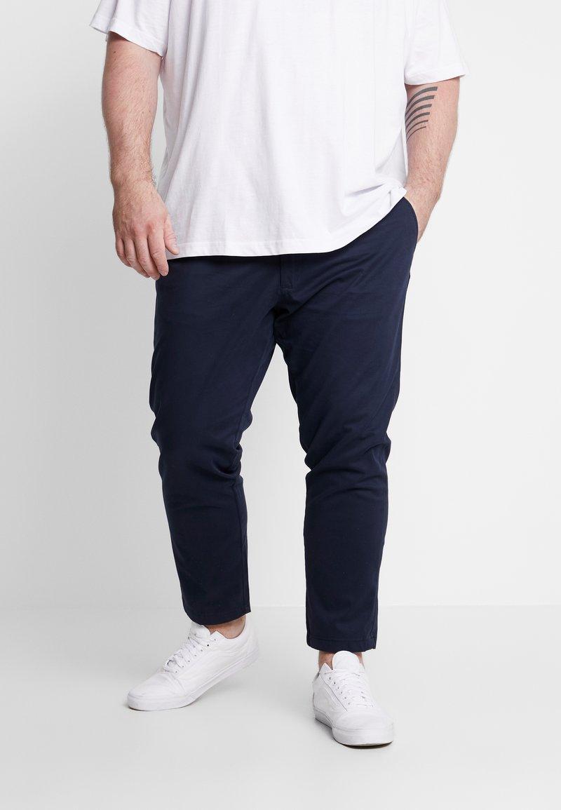 Jack & Jones - JJIMARCO JJBOWIE - Chino kalhoty - navy blazer
